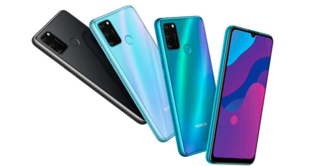 Honor 9A comes with waterdrop notch display and 5,000mAh battery