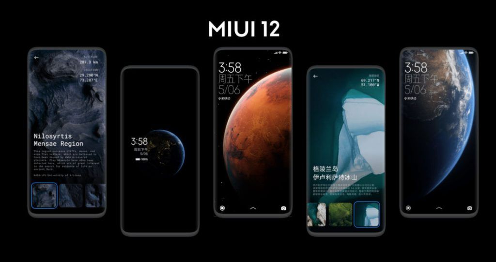 The MIUI 12 will start rolling out in June 2020 to a select few smartphones