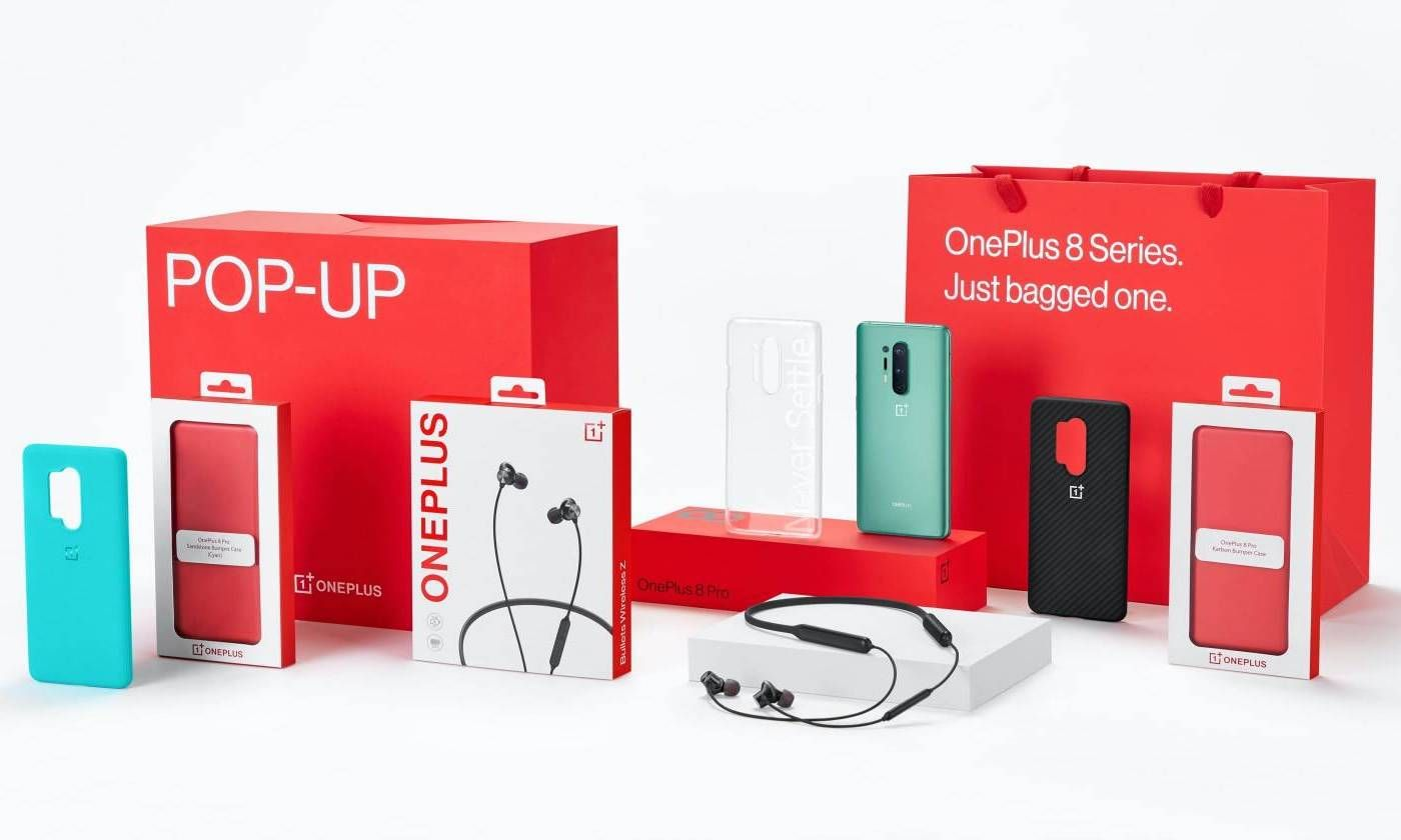 The OnePlus 8 series pop-up boxes in India start at Rs 45,999
