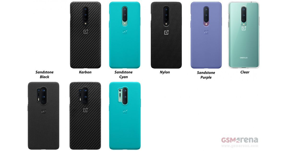 OnePlus 8 and 8 Pro official cases leaked ahead of launch, new Sandstone colours incoming