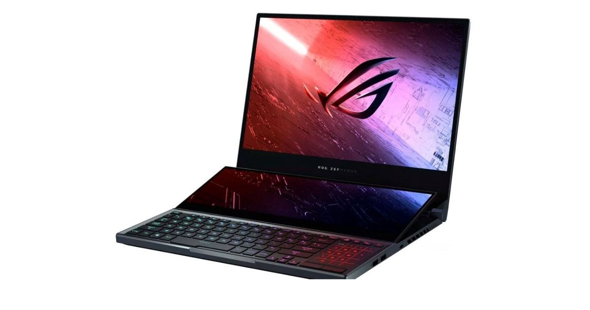 ASUS ROG Zephyrus Duo 15 gaming laptop with dual screens announced
