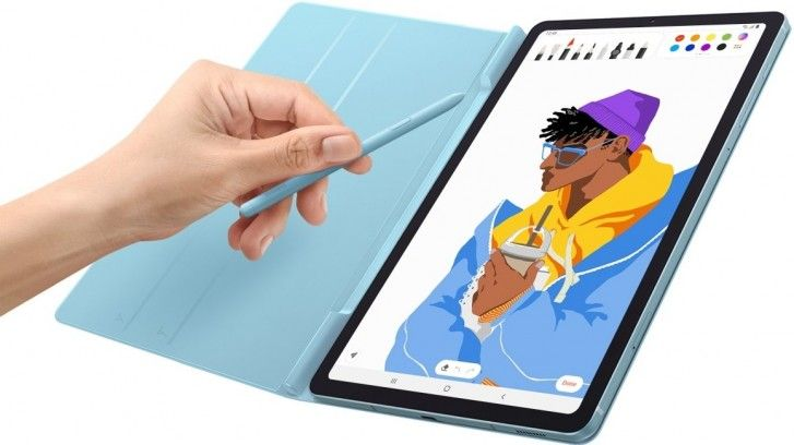 Samsung Galaxy Tab S6 Lite Book Cover comes with a slot for S-Pen