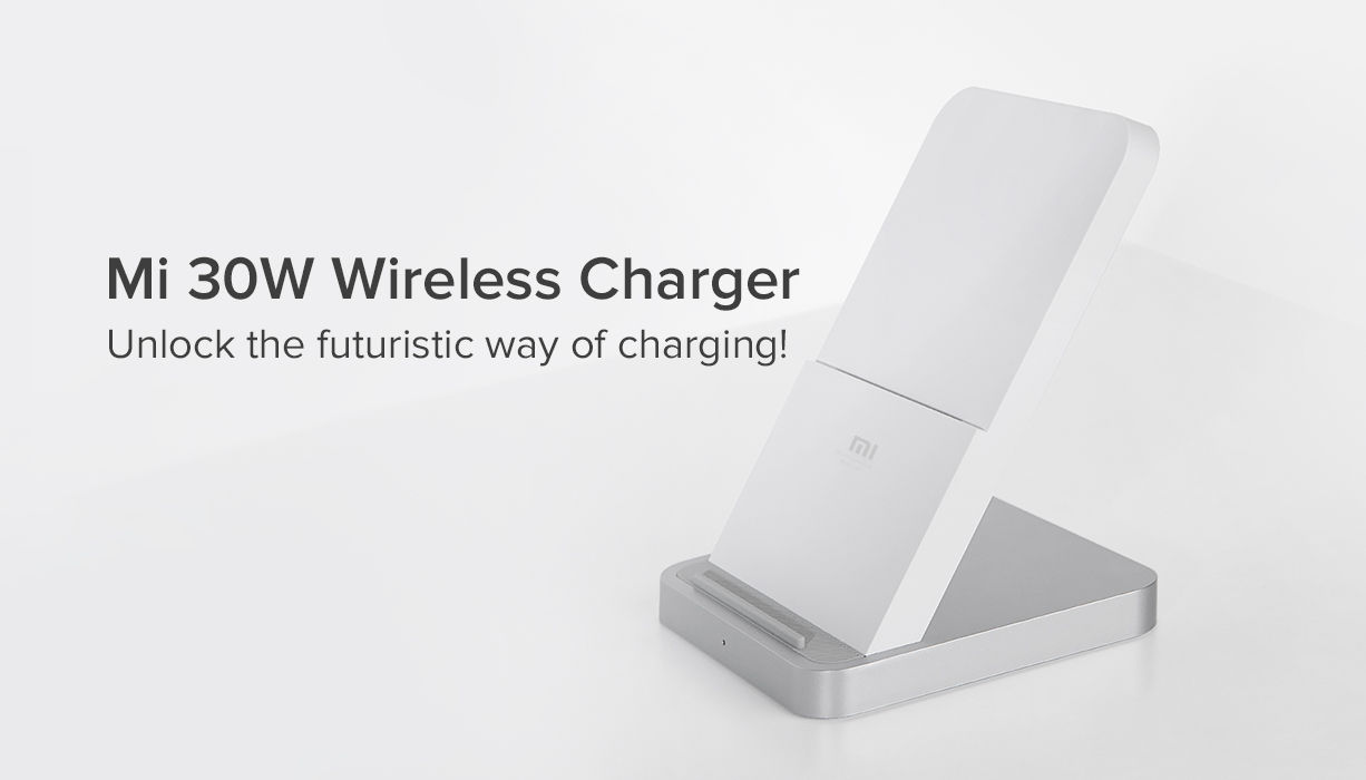 The Mi 30W Wireless Charger comes with foreign object detection, built-in fan and more
