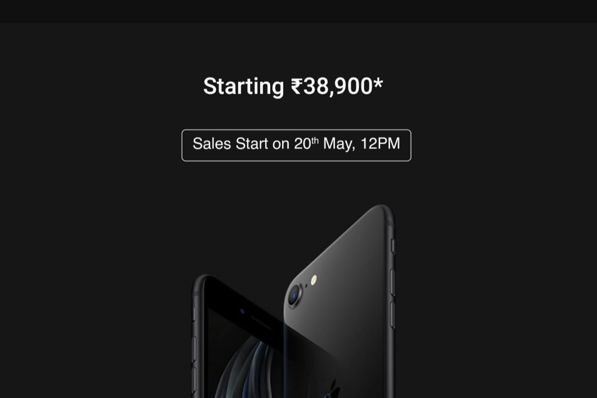 Apple iPhone SE 2020 goes on sale in India starting May ...