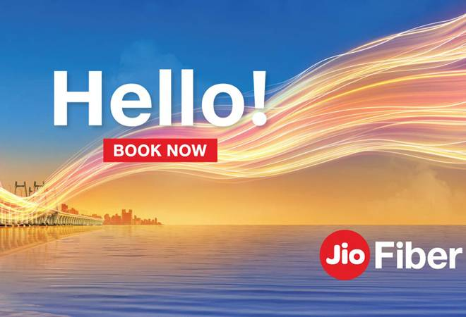 To book Jio Fiber, users will have to visit the official website