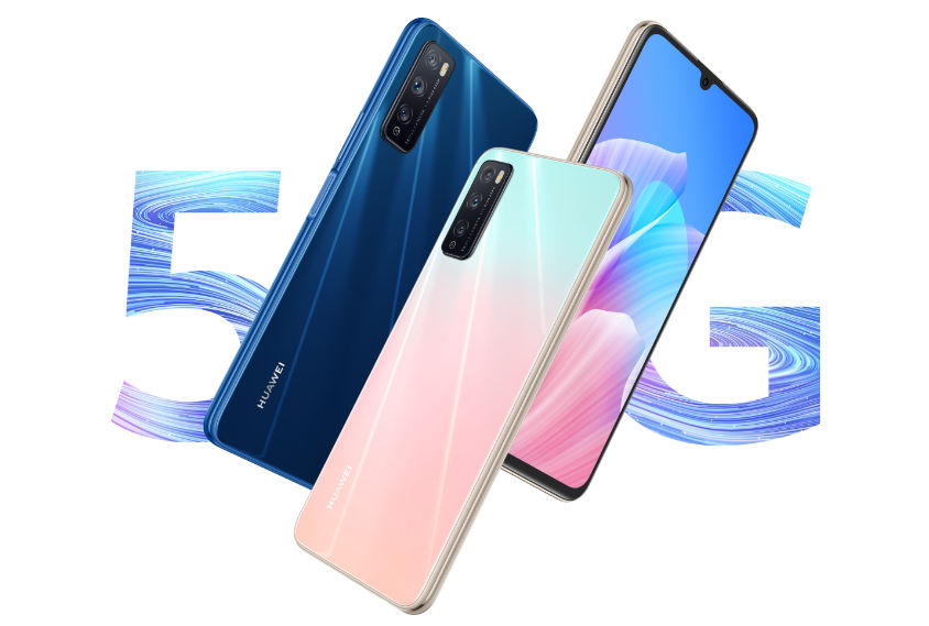 The Huawei Enjoy Z 5G features 6.5-inch dewdrop display, Dimensity 800 SoC, 48MP triple cameras and more