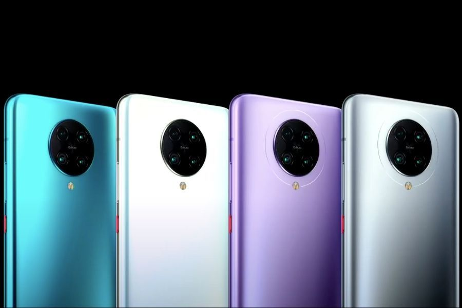 The POCO F2 Pro is being offered in Neon Blue, Phantom White, Electric Purple and Cyber Grey colours