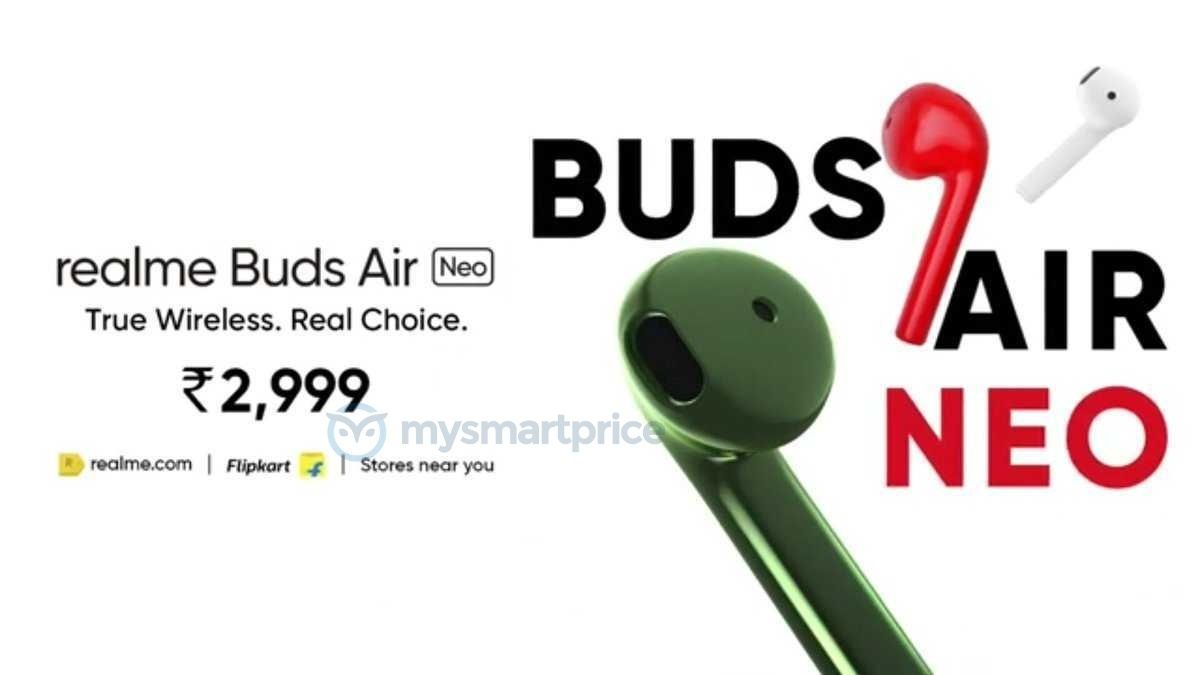 The Realme Buds Air Neo will compete with Redmi AirDots