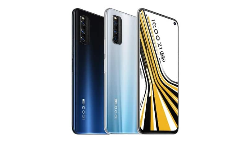 The iQOO Z1 is the first smartphone to come with Dimensity 1000+ SoC
