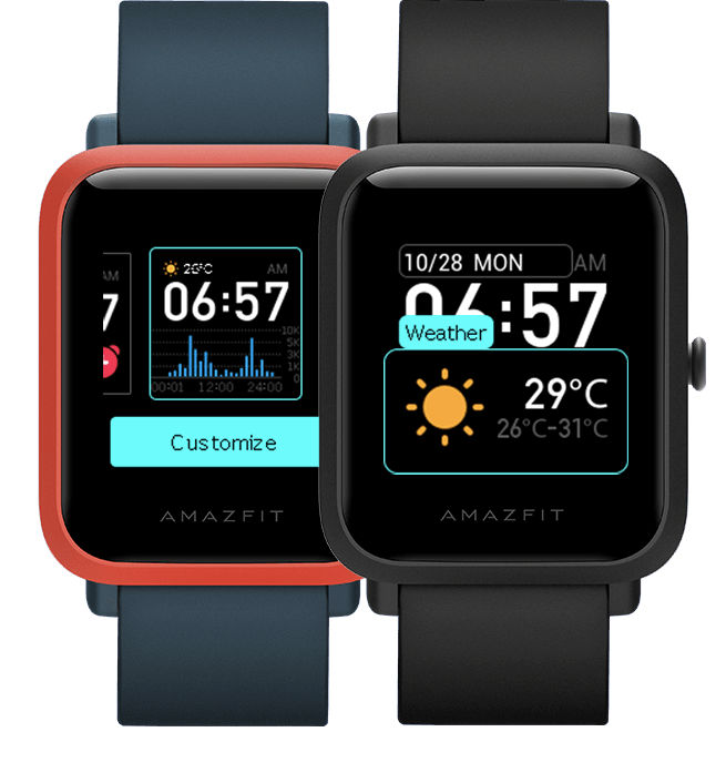 The Amazfit Bip S offers a whooping 40 days battery backup