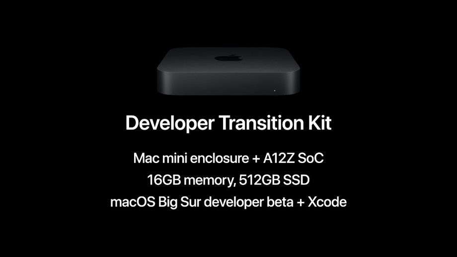 Apple is offering Developer's Transition Kit to developers to faciliate quick transition