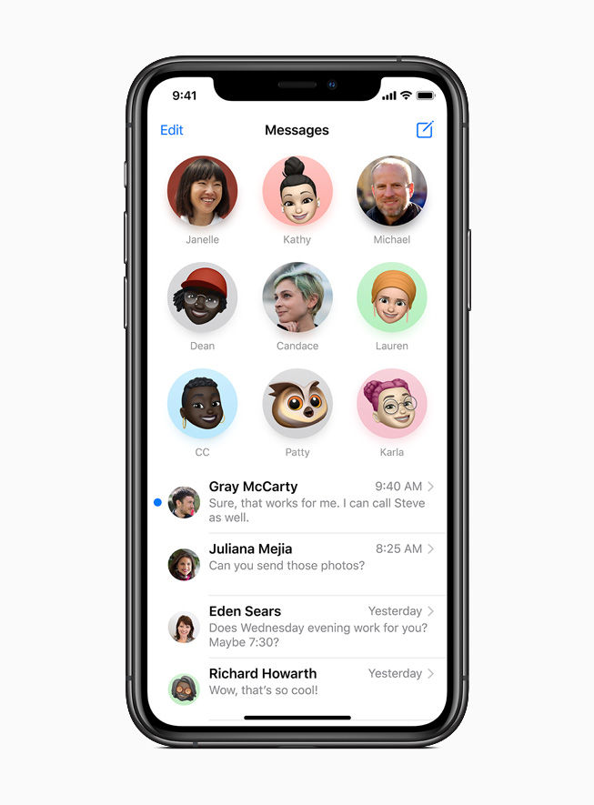 In iOS 14, users will be able to pin important conversations on the top