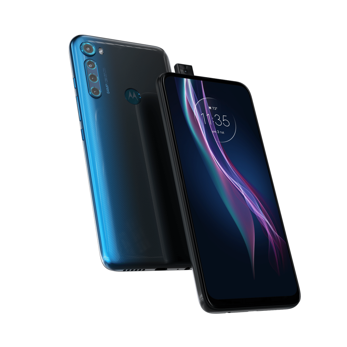 The Motorola One Fusion Plus is the second smartphone from the brand after One Hyper to offer a pop-up selfie camera