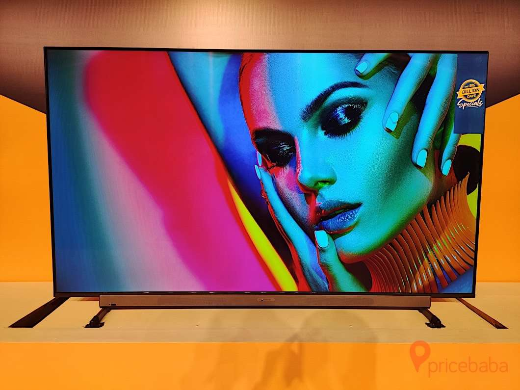 The Motorola TV also marks the debut of brand in the TV segment