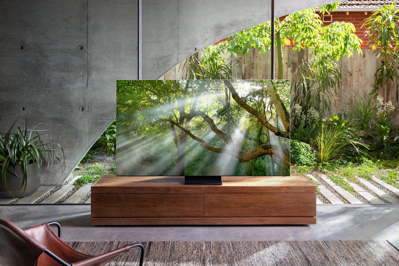 The 2020 QLED 8K TVs come with 99 percent screen-to-body ration, which is the highest in industry