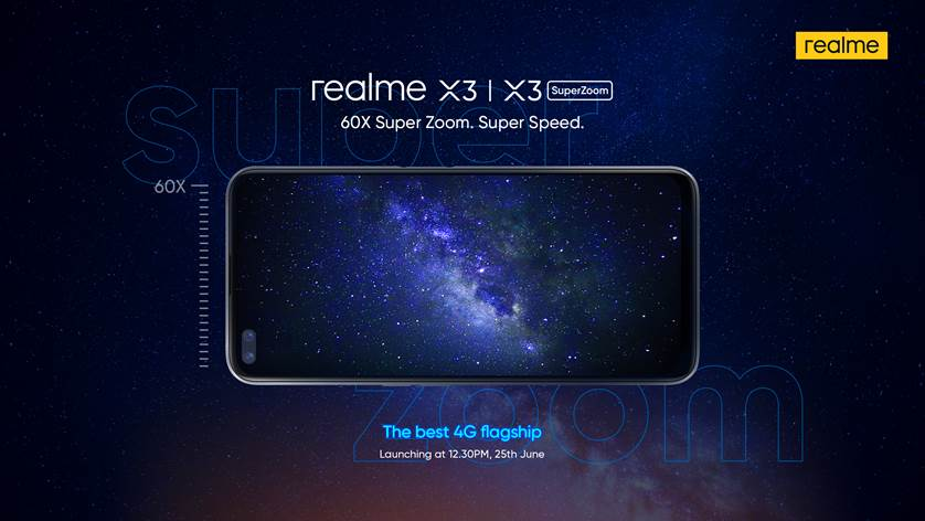 Realme is also launching a standard X3 alongside the X3 SuperZoom in india