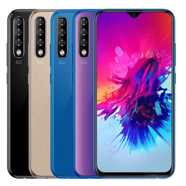 The Infinix Smart 3 Plus is an entry-level offering with triple cameras and waterdrop notch display