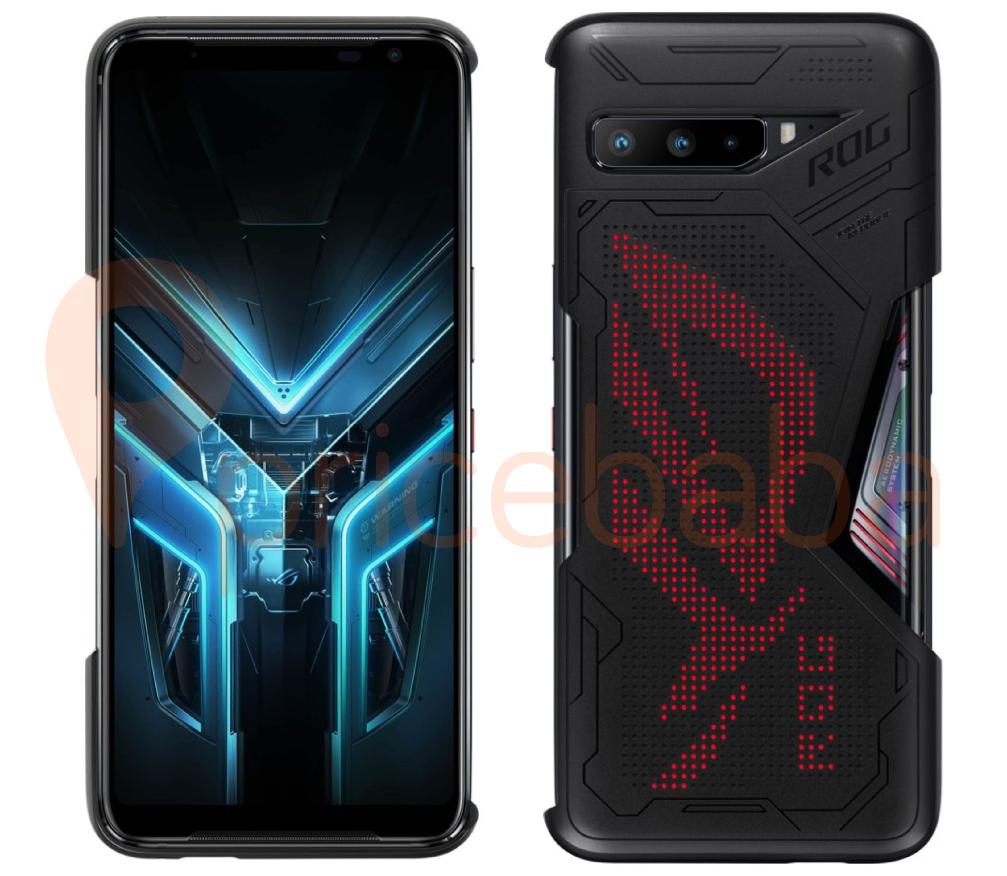 The Lighting Armor Case for ROG Phone 3 now has RGB lighting in LED setup