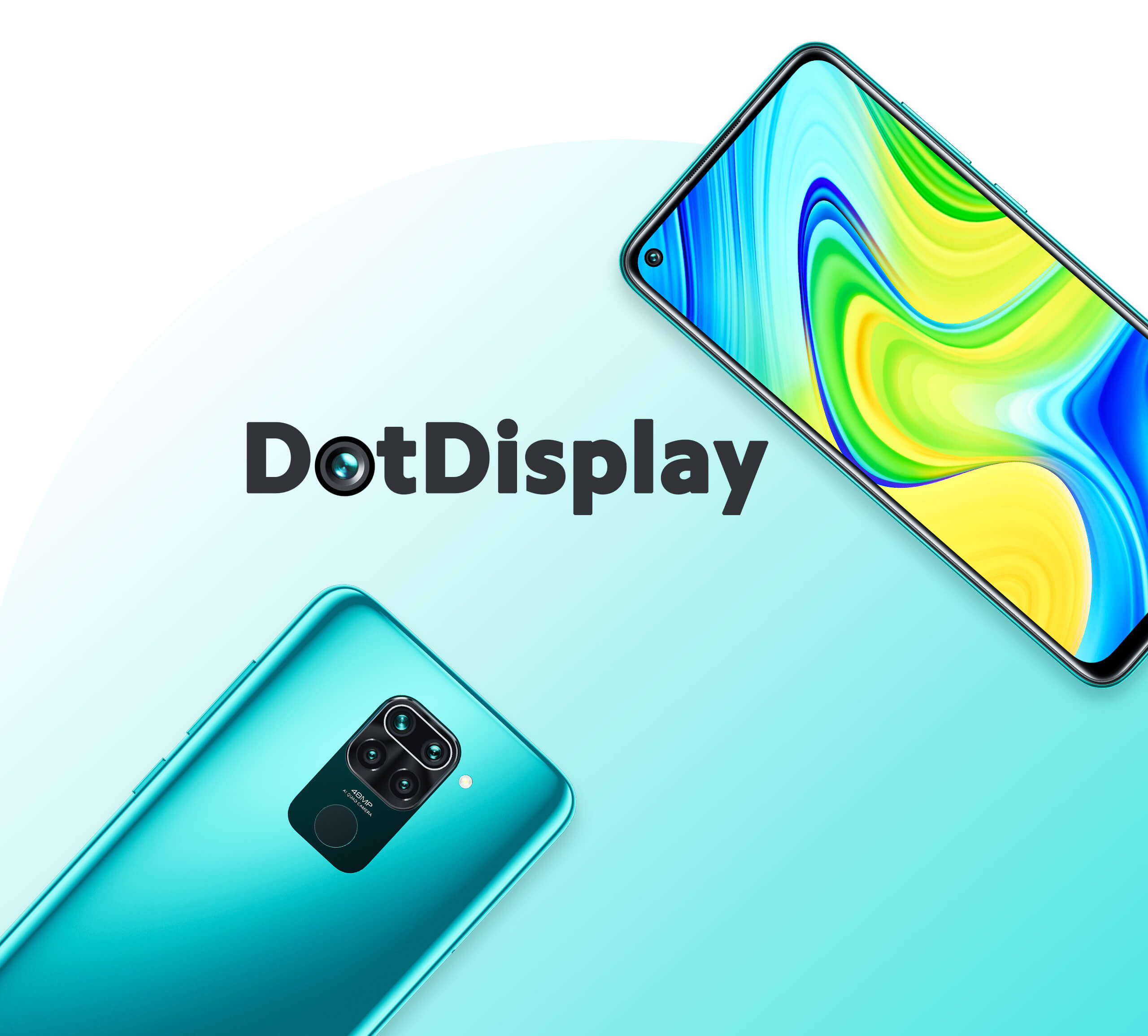 The Redmi Note 9 comes with a 6.53-inch Dot Display with a punch-hole cutout