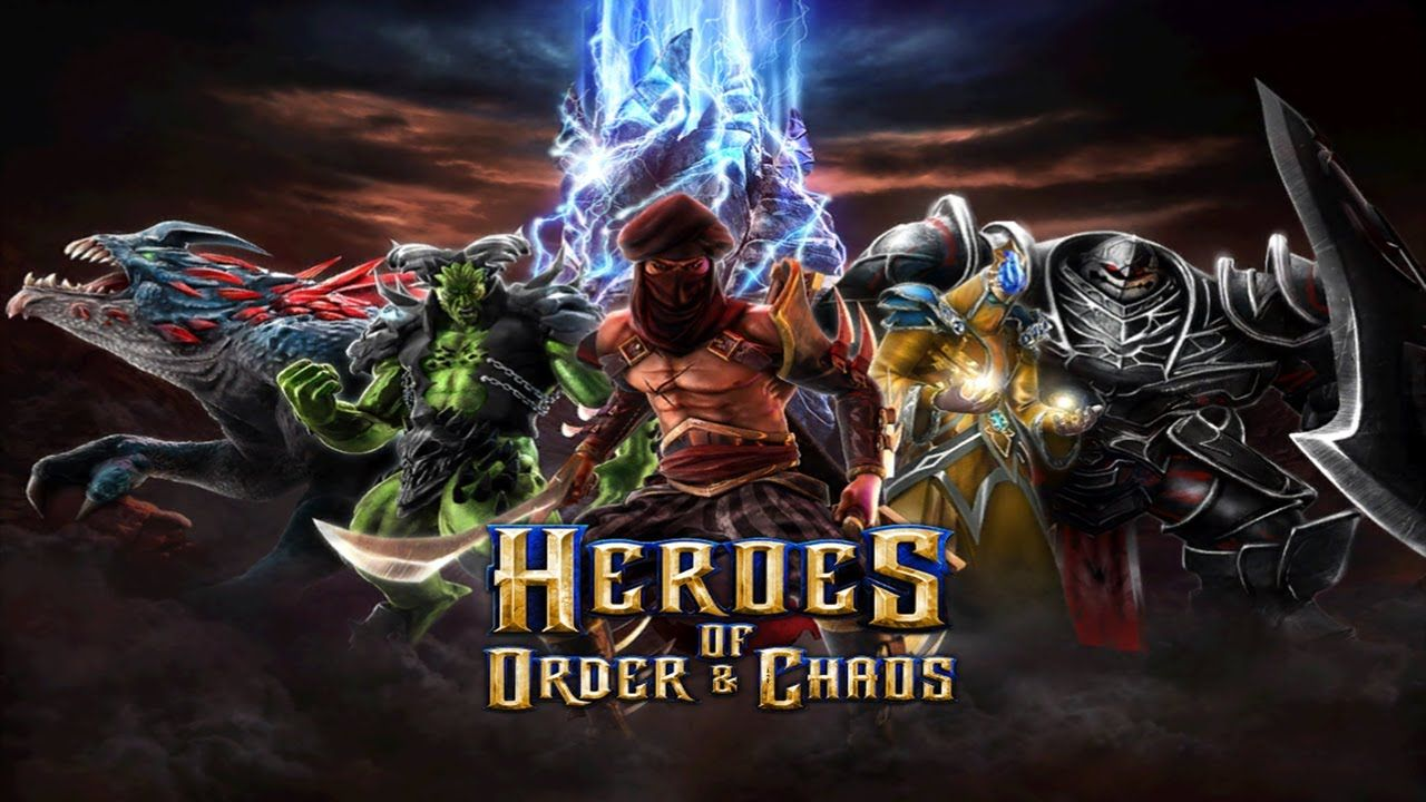 The Heroes of Order and Chaos was the first mobile MOBA game with Twitch integration