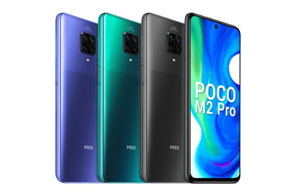 The POCO M2 Pro comes powered by the Snapdragon 720G and has 48MP quad-camera array