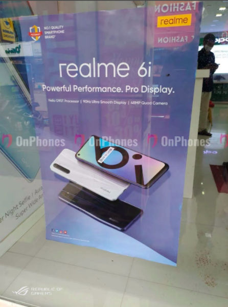 The Indian Realme 6i is a rebranded Realme 6s with Helio G90T