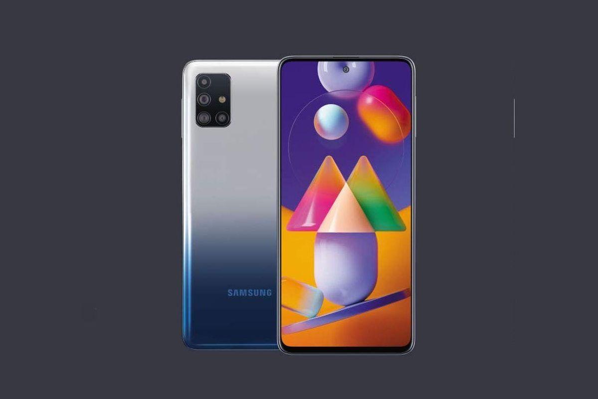 Samsung Galaxy M31s render
