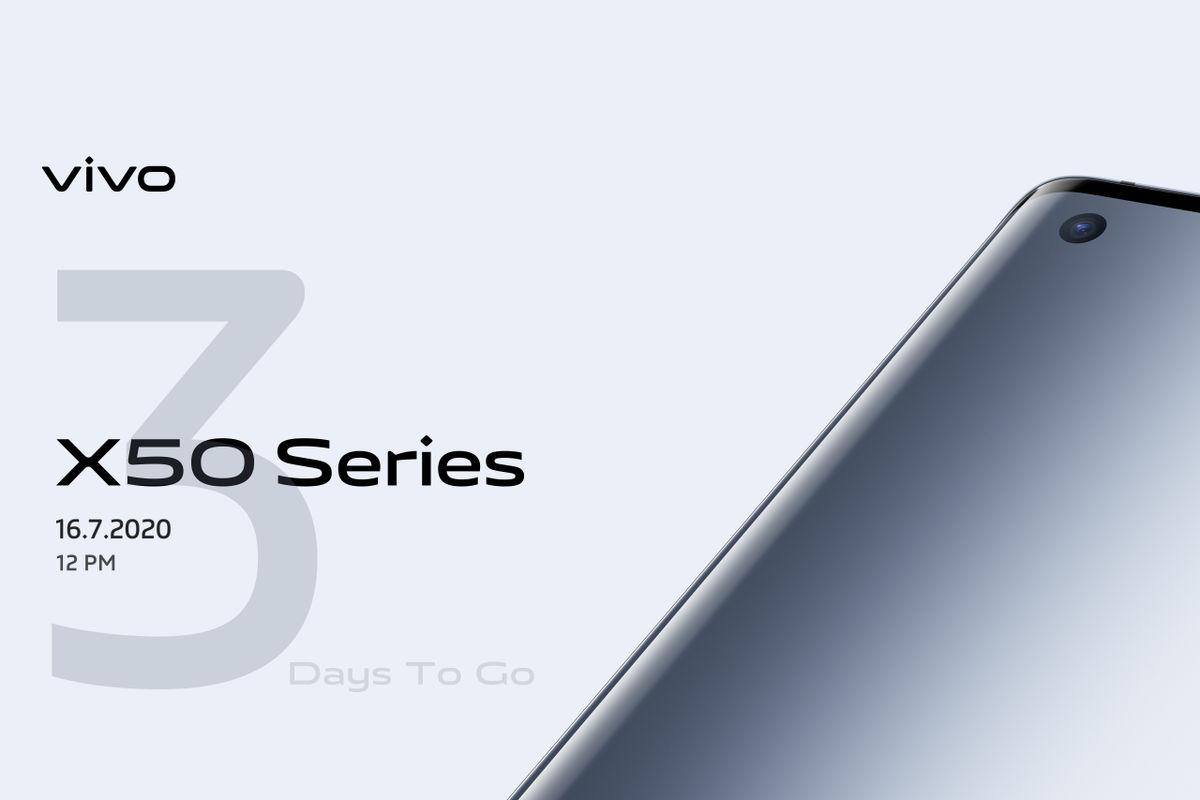 Vivo X50 series July 16 India launch