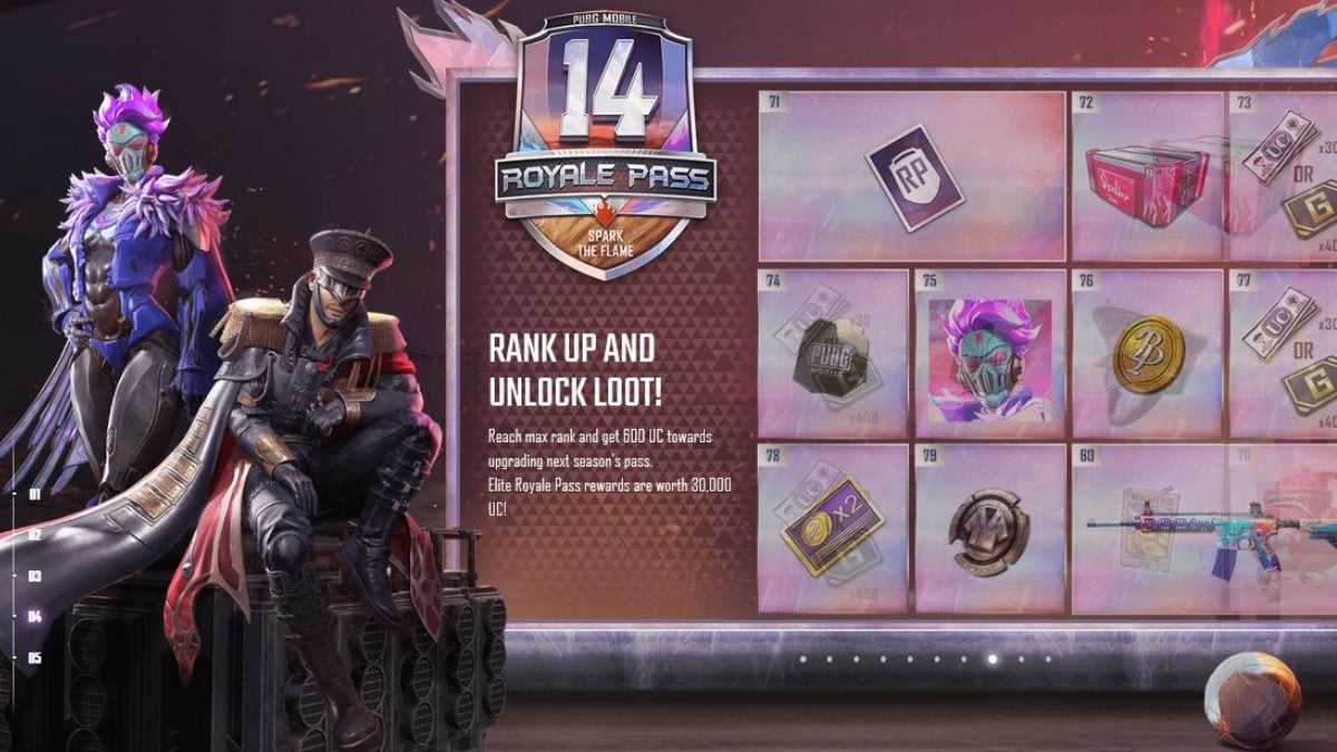 PUBG Mobile Royale Pass Season 14 marks the two-year anniversary of Royale Pass