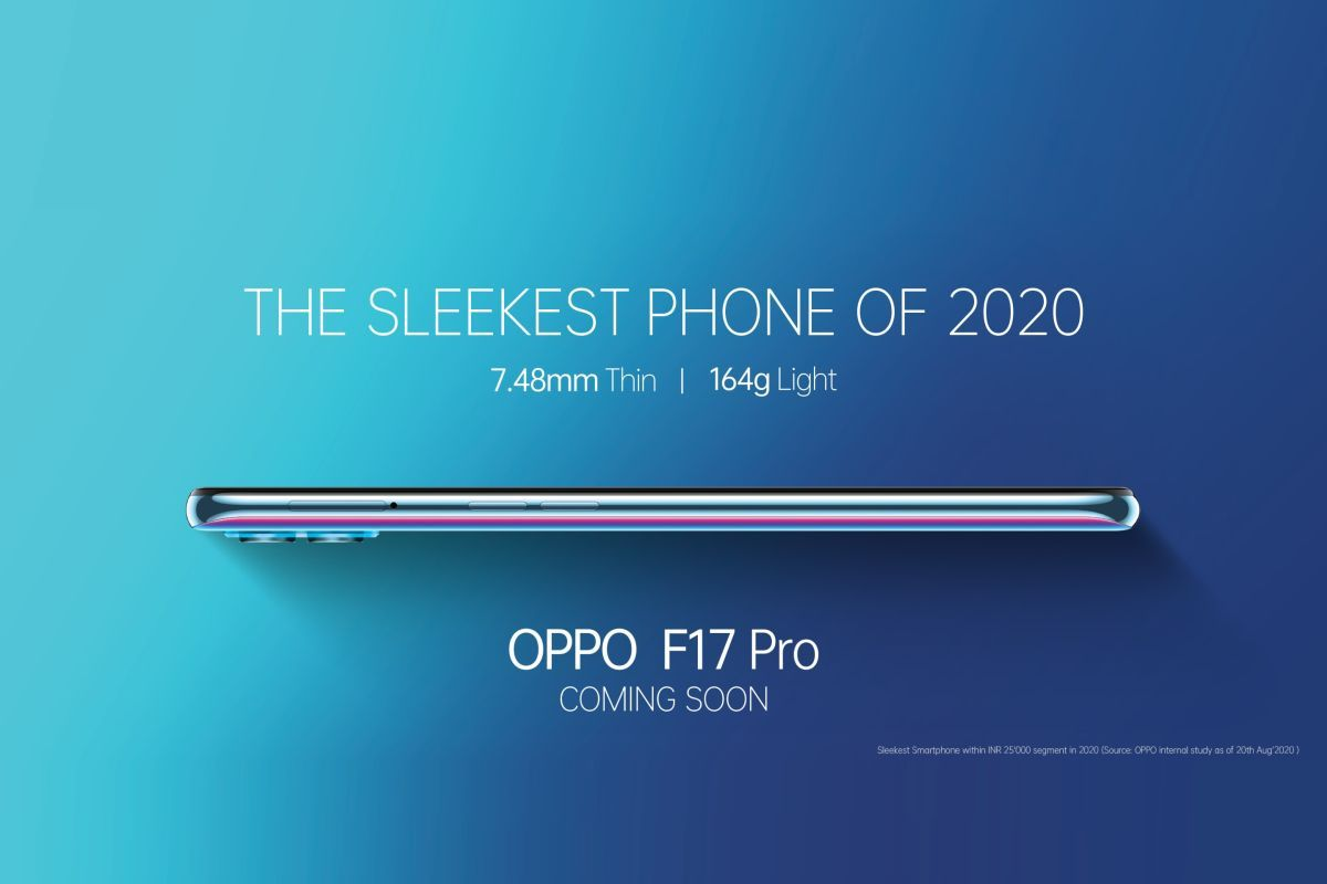 OPPO F17 Pro launch confirmed