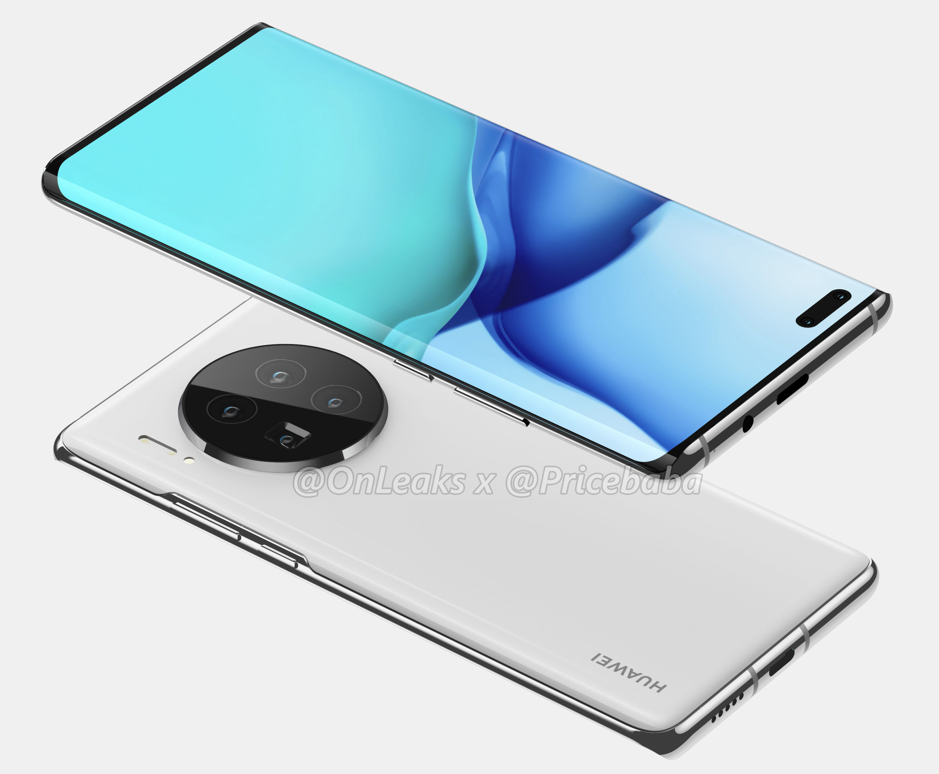 Leaked Render Images of The Huawei Mate 40 Series