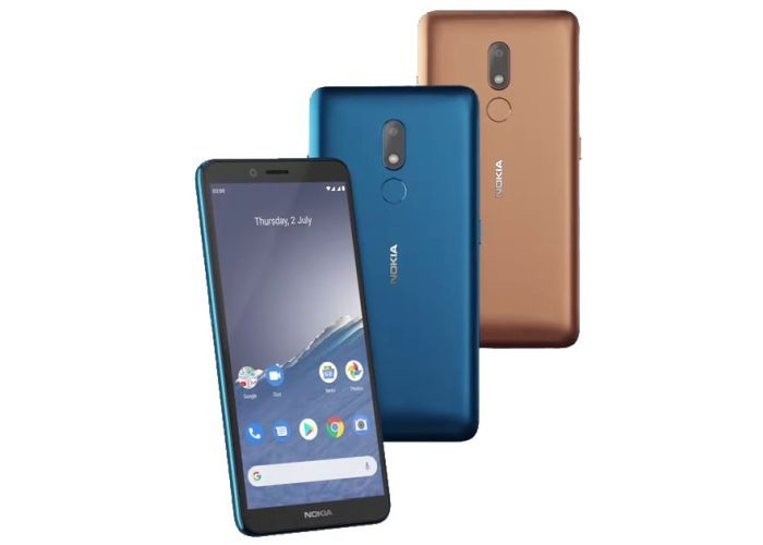 Nokia C3 is a Made in India device with removable battery and stock Android 10