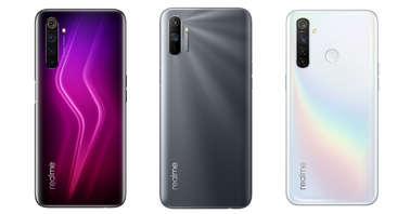 Realme 6 Pro, Realme C3 and Realme 5 Pro new color variants