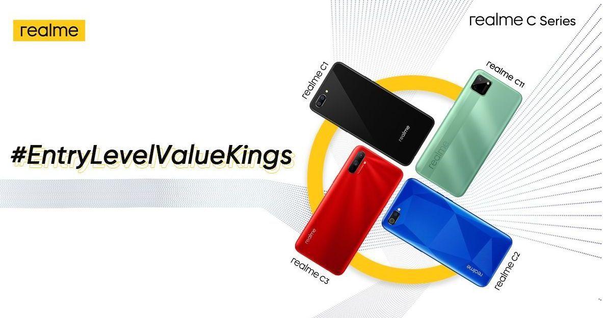 Realme India teases new C-series phones-
