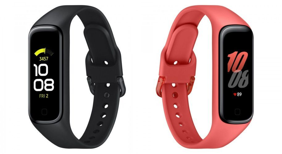 Samsung Galaxy FIt2 Black and Scarlet-