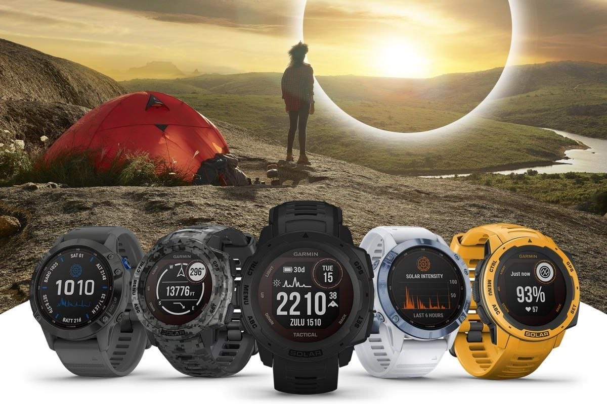 Garmin Instinct Solar and Fēnix 6 Pro Solar
