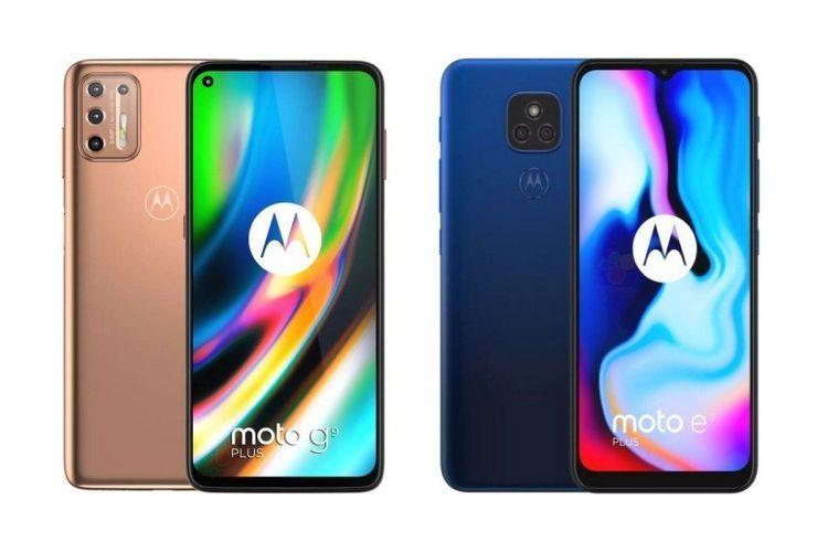 Moto G9 Plus and Moto E7 Plus