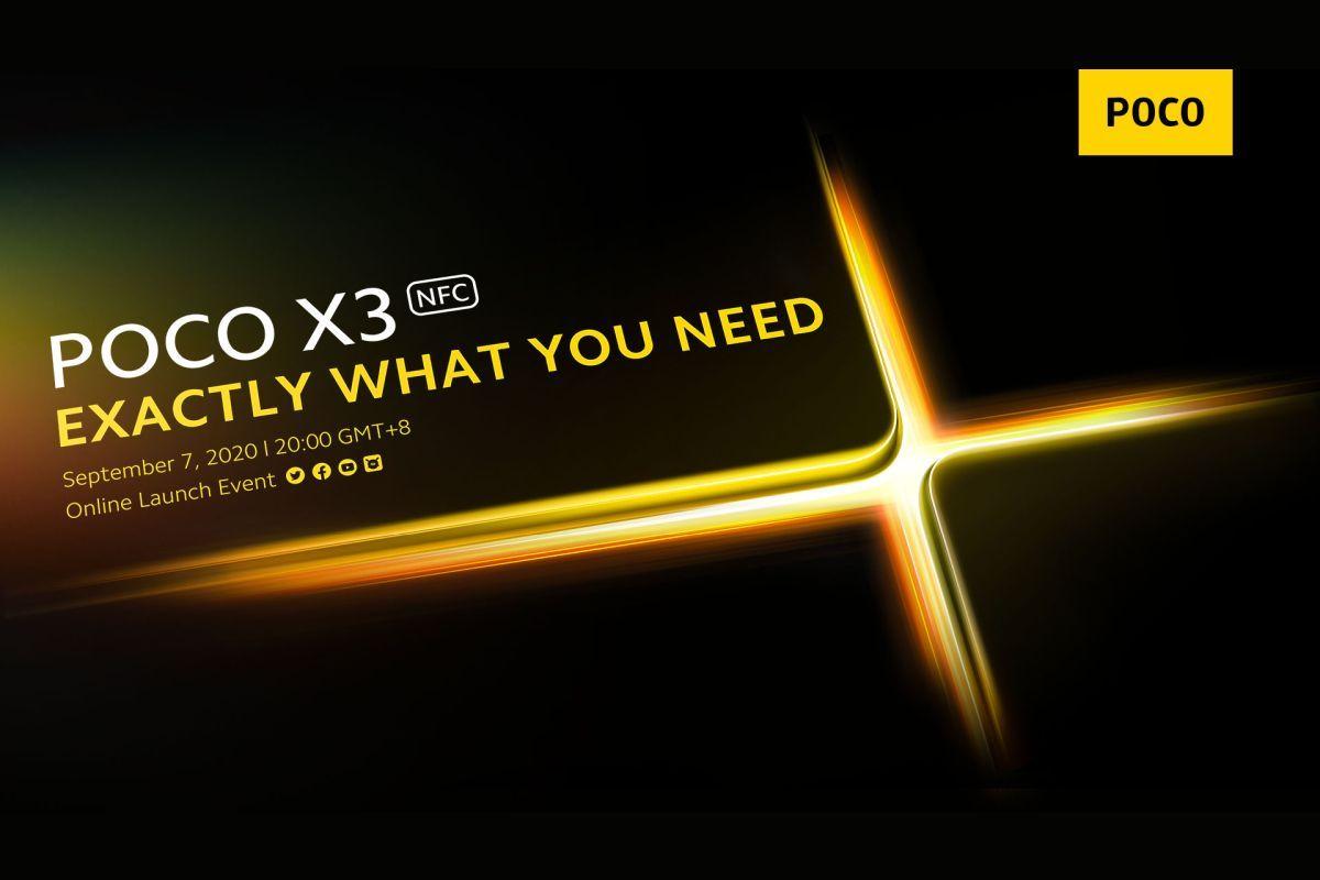 POCO X3 NFC launch date