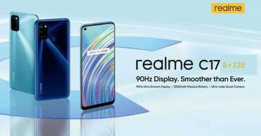 Realme C17 launch poster-