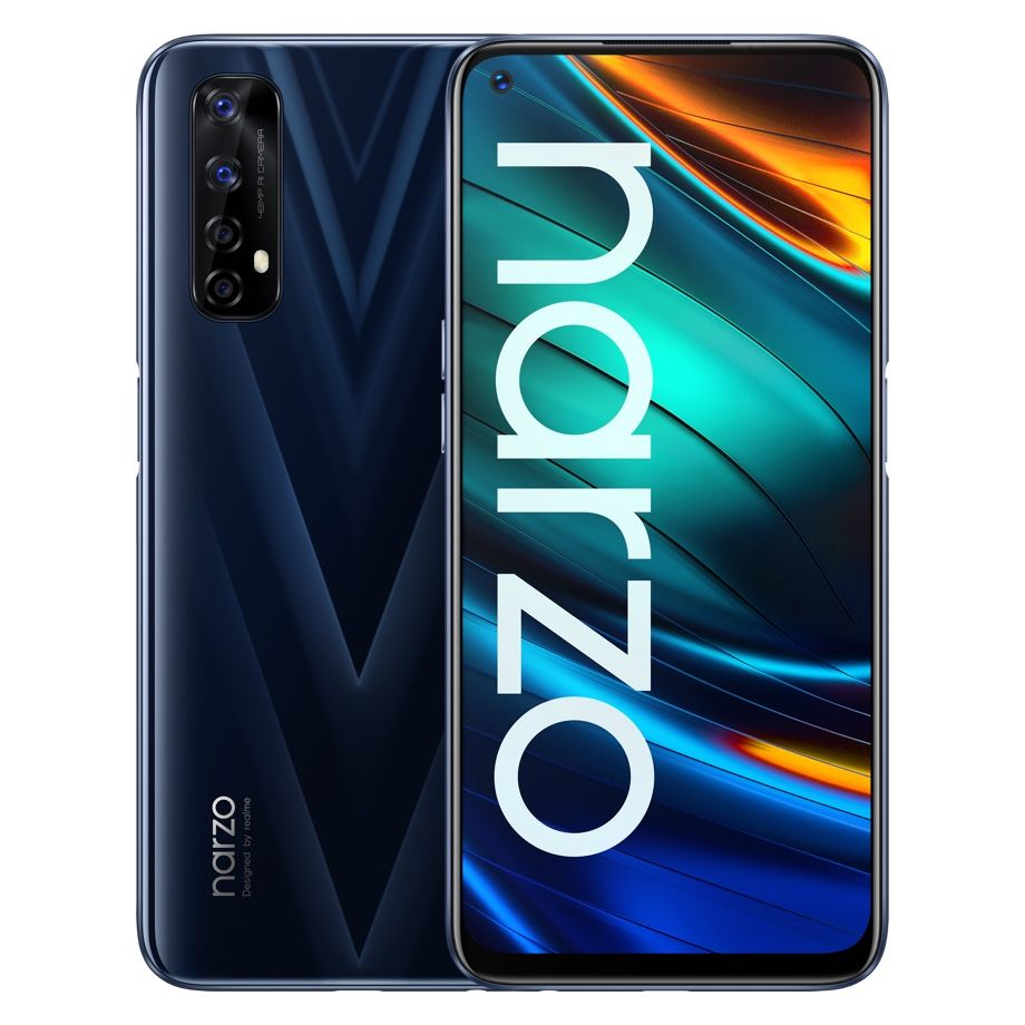 The Realme Narzo 20 Pro is the top-of-the-line model in Narzo 20 series