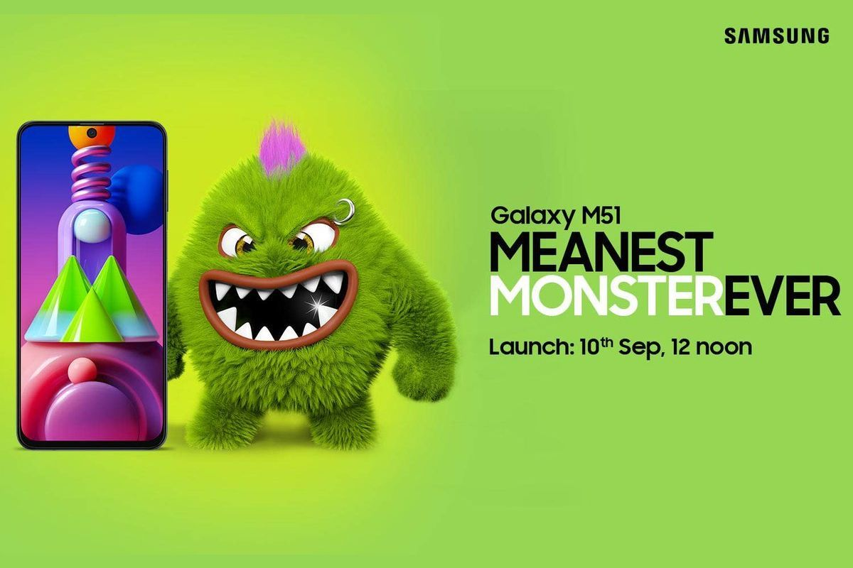 Samsung Galaxy M51 September 10 India Launch