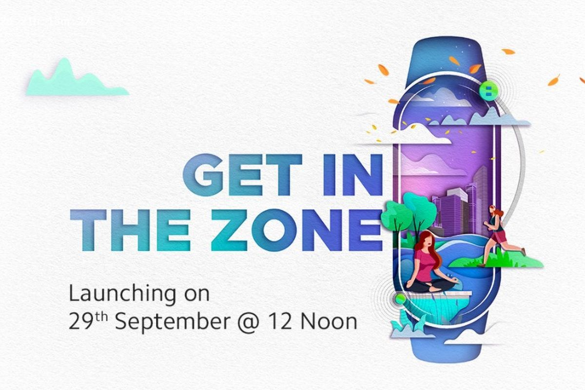 Xiaomi Mi Band 5 September 29 launch date