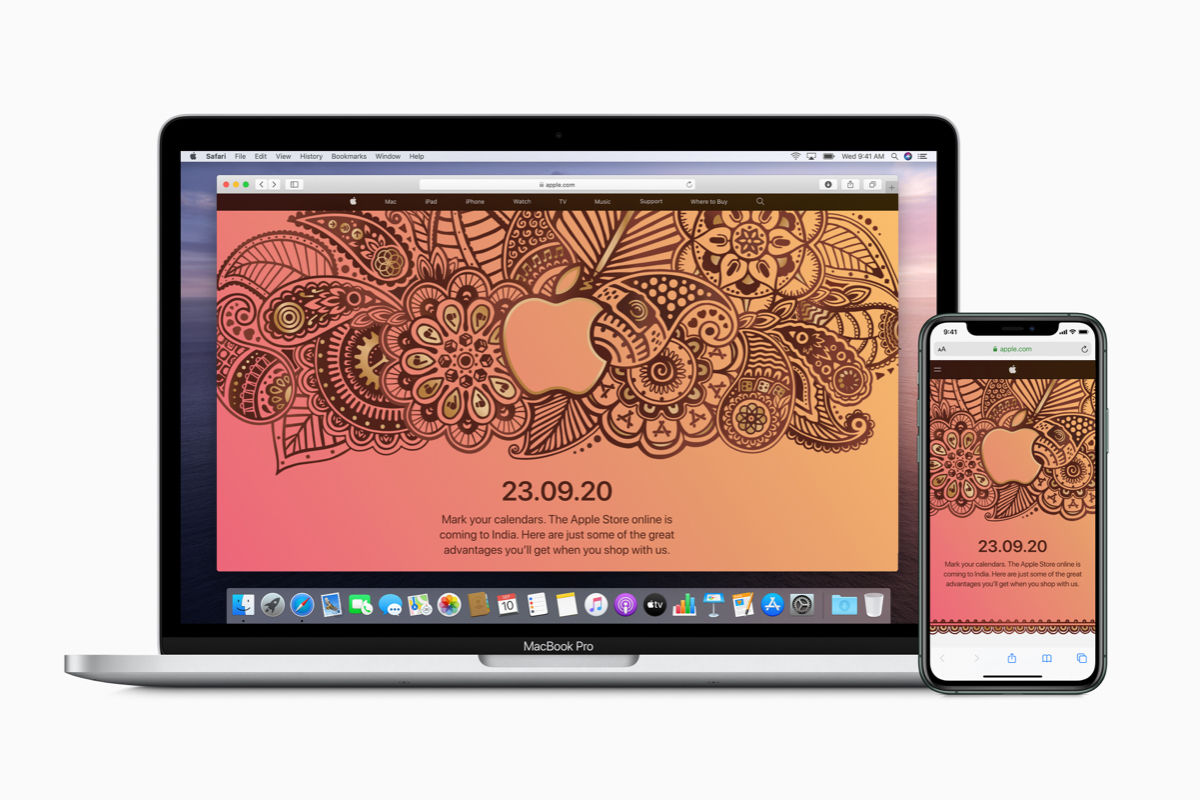The Apple Store online in India will offer personalised products