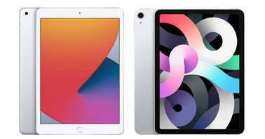 iPad 8th generation and iPad AIr 4th generation-