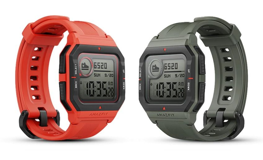 The Amazfit Neo is a retro-styled smartwatch with three sports mode