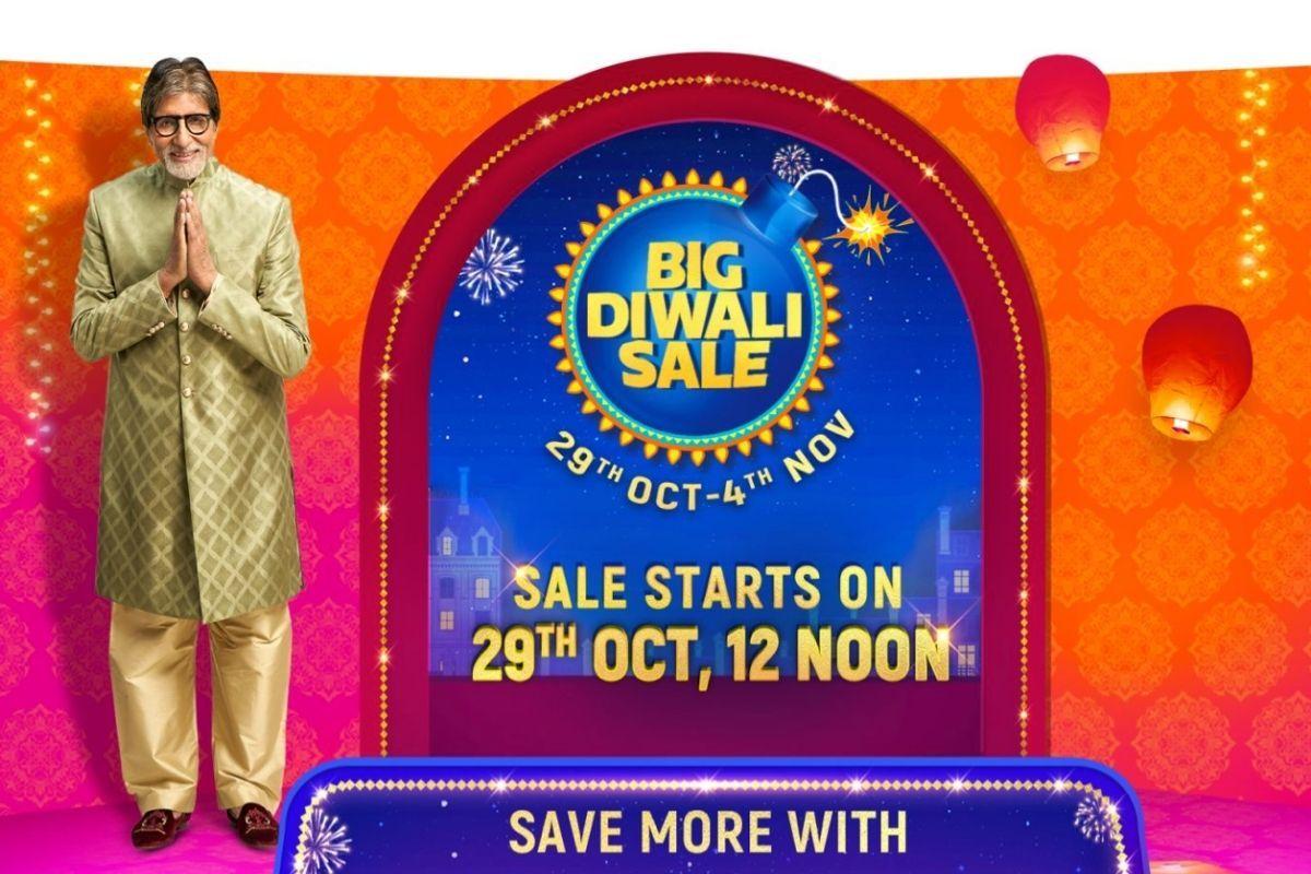 Flipkart Big Diwali Sale will be running from October 29th till November 4th