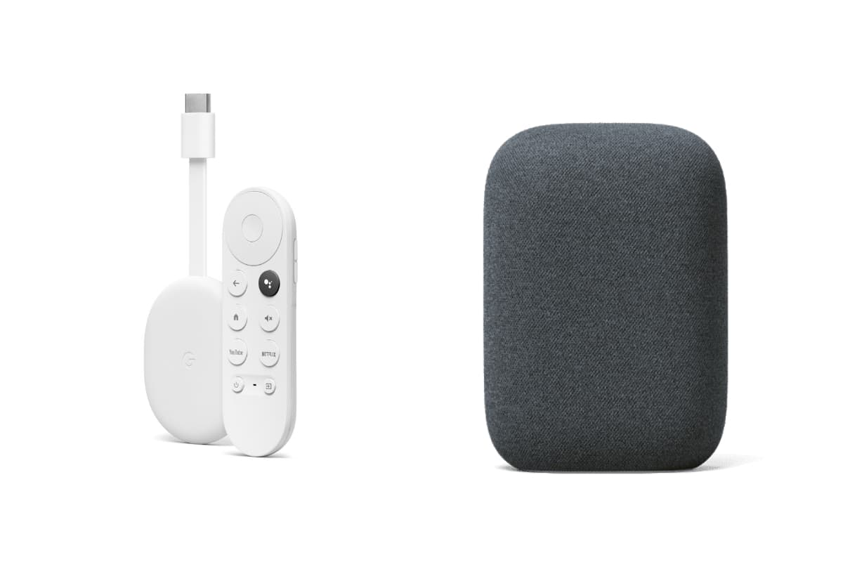 Google Chromecast with Google TV and Nest Audio