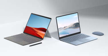 Microsoft Surface Pro X 2nd generation and Surface Laptop Go