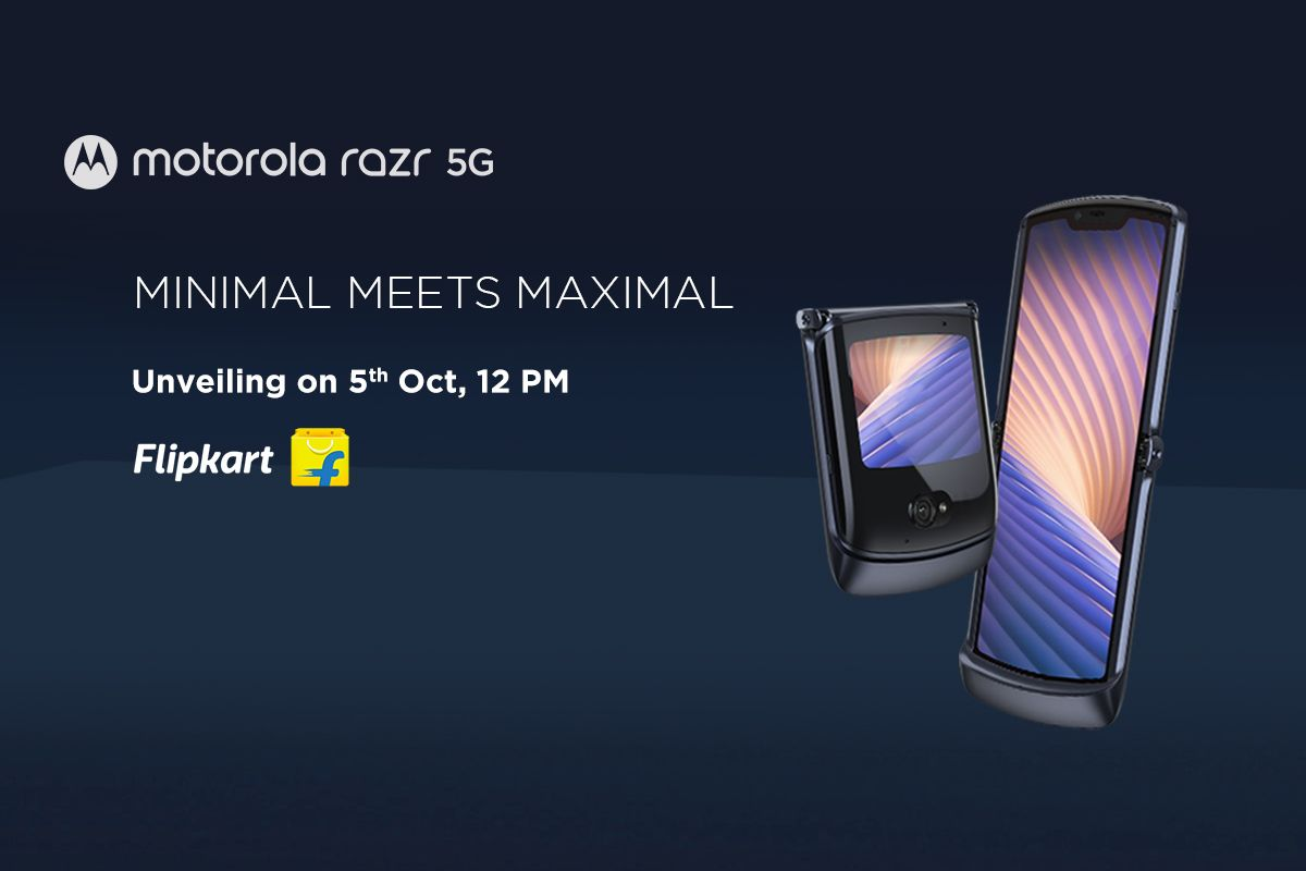Motorola Razr 5G India launch date
