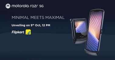 Motorola Razr 5G India launch date
